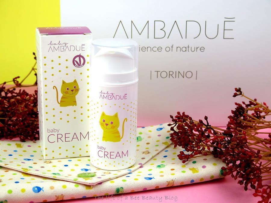 recensione linea baby ambaduè baby cream