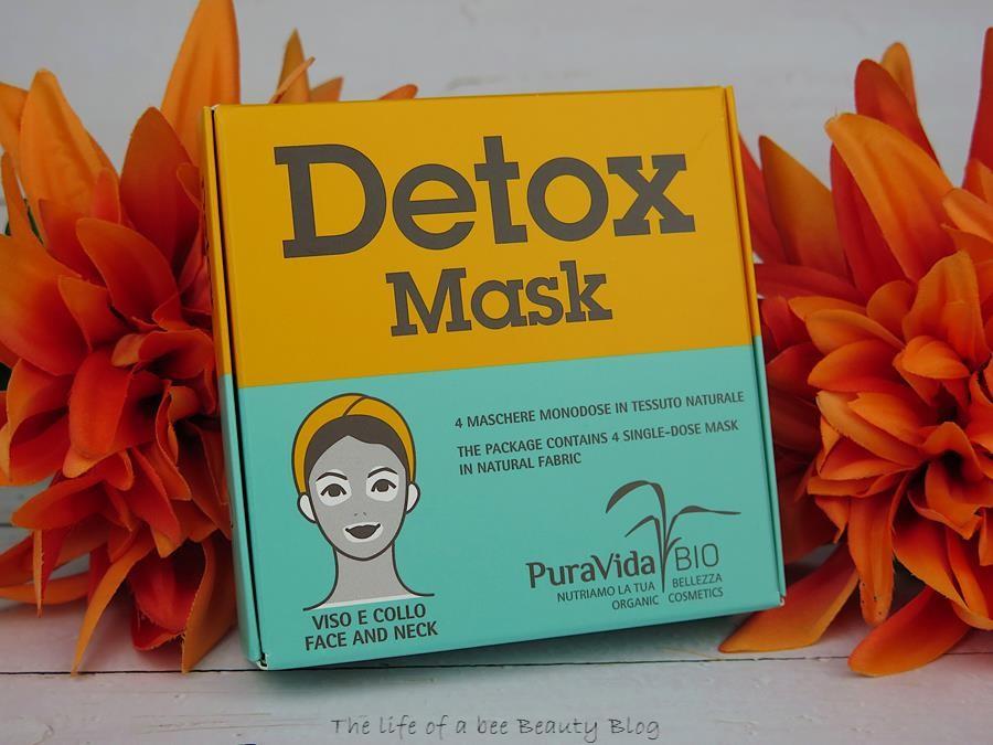 puravida bio linea detox recensione maschera viso