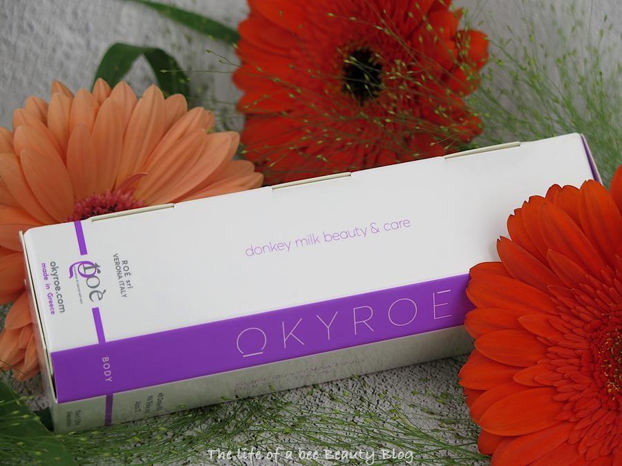 recensione review okyroe latte corpo super idratante