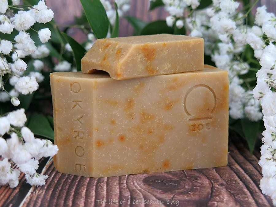 okyroe recensione crema mani saponi artigianali klio e zoe