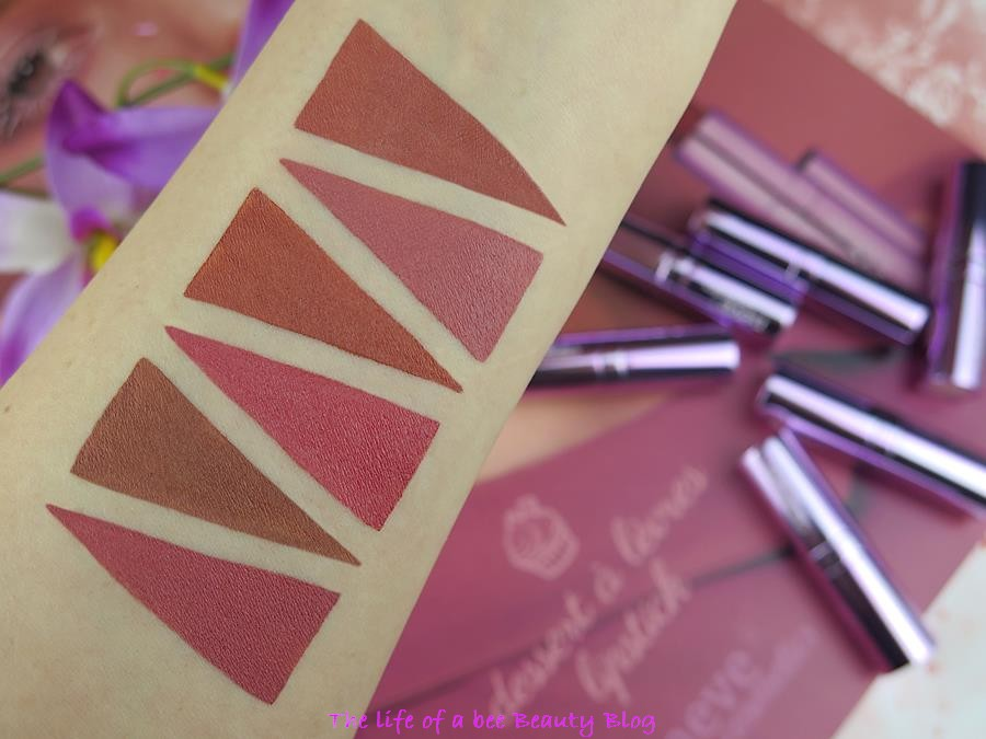 Neve Cosmetics newdelicious collection recensione swatch