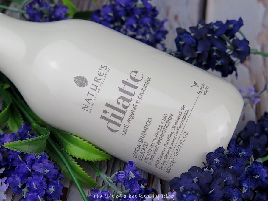 dilatte nature's biosline doccia shampoo
