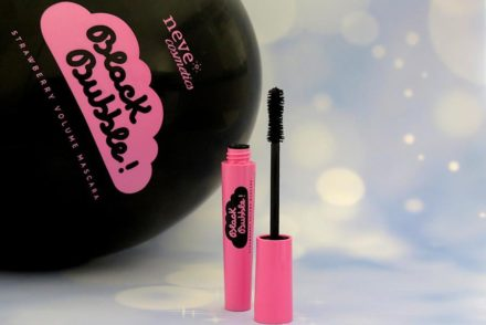 black bubble mascara neve cosmetics recensione review
