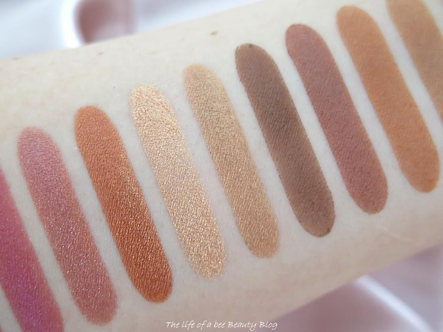 Unveiled Artistry Palette Illamasqua review swatches