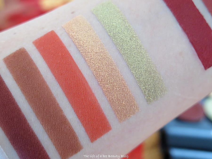 Falling Leaves Collection piteraq cosmetics recensione swatches