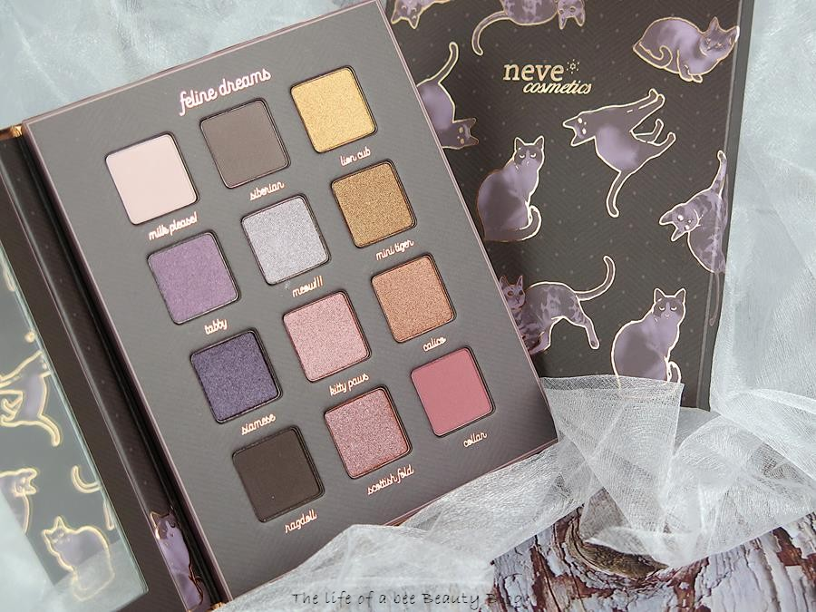 Feline Dream palette neve cosmetics recensione swatches