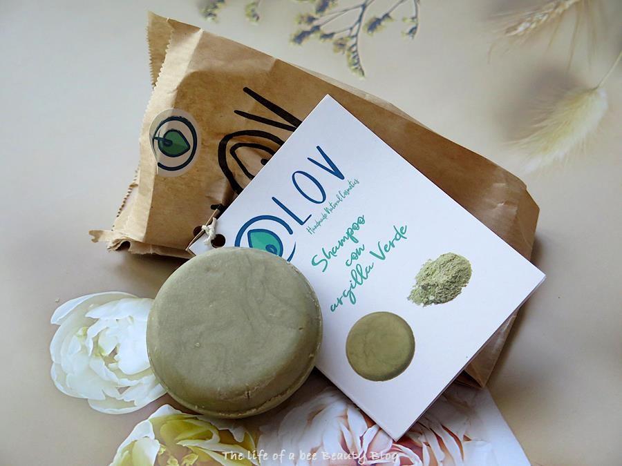 recensione lov shampoo solido argilla verde